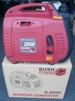 BushPower G2000i - 2KVA Pure Sine Inverter Generator