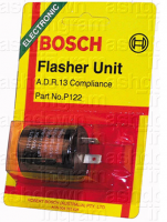 Bosch P122 - Flasher Relay 12V Electronic 89W - 2 Terminals
