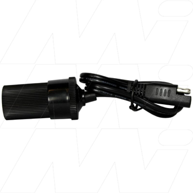 BFL8 - Lead & female cigarette lighter socket for Battery Fighter Chargers