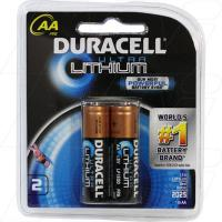 Duracell LF1500 AA 1.5V Ultra Lithium Battery