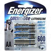 Energizer Lithium AA 4Pk