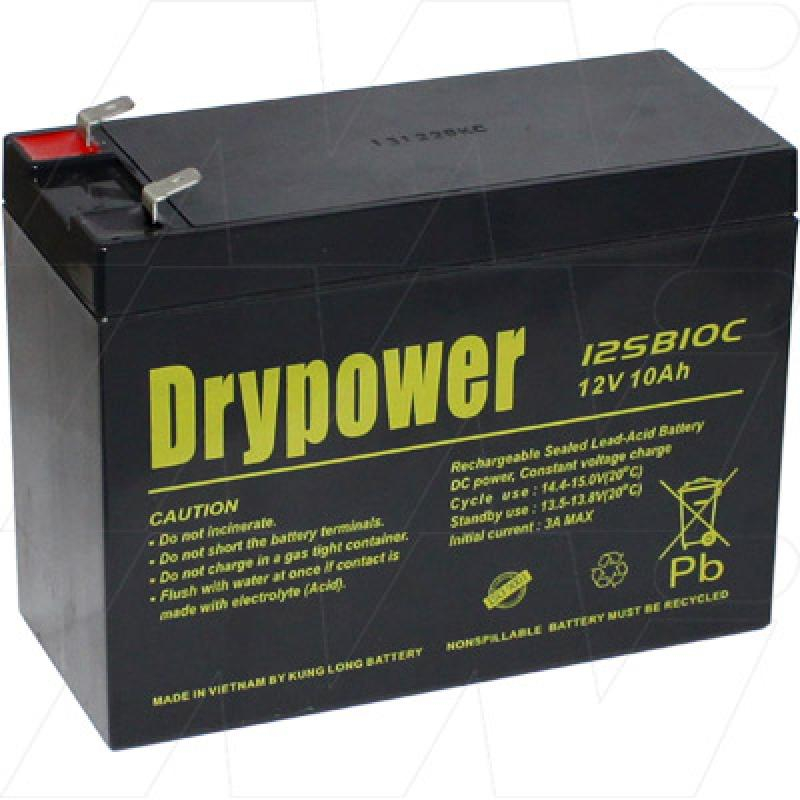 Drypower 12SB10C, 12V 10AH Deep Cycle Battery