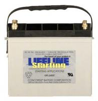 LIFELINE GPL-2400T - 12V RV / MARINE AGM STARTING BATTERY
