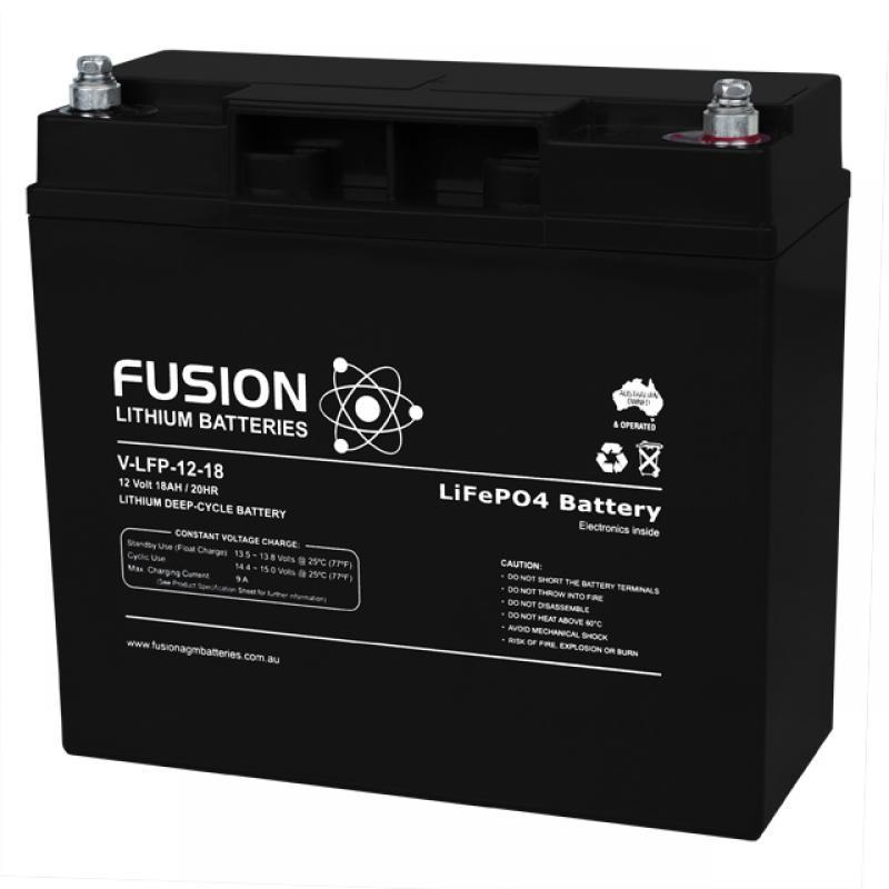 Fusion V-LFP-12-20 - Lithium Battery 12V, 20Ah
