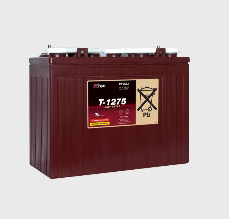 Trojan T-1275 12V Deep Cycle Battery