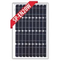 SP-EN20W - 20W 12V Monocrystalline Solar Panel