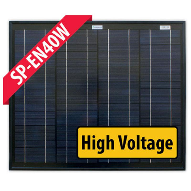 SP-EN40W - 40W 24V Monocrystalline Solar Panel