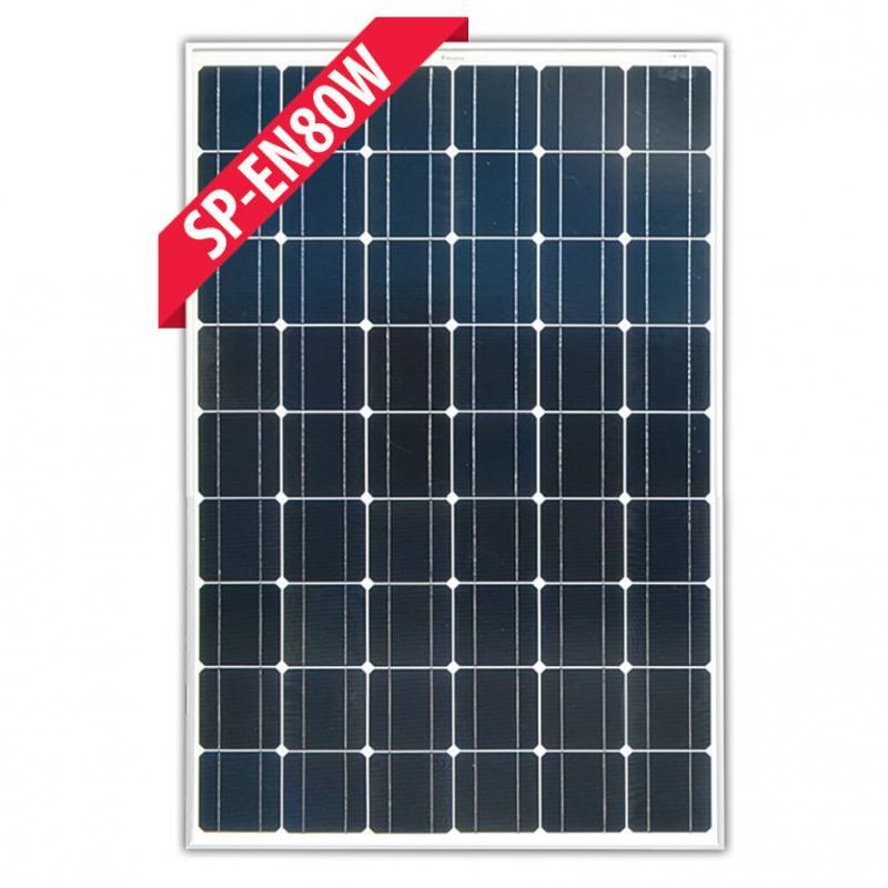 SP-EN80W - 80W 12V Monocrystalline Solar Panel