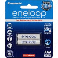 Panasonic Eneloop AAA 2Pk Low Self Discharge/2100 Recharges