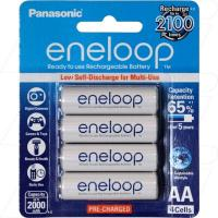 Panasonic Eneloop AA 4Pk Low Self Discharge/2100 Recharges