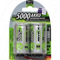 Ansmann D size NiMH Rechargeable Battery