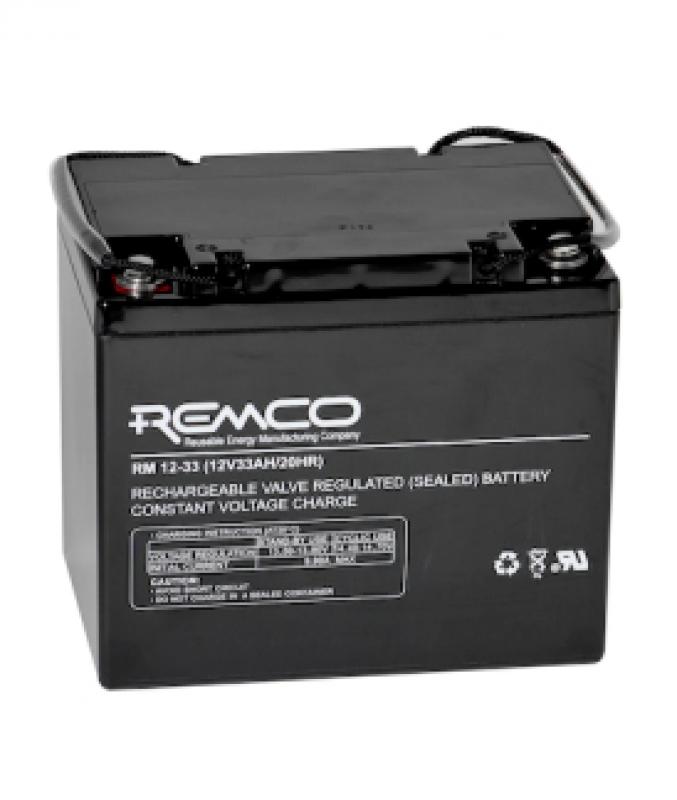 Remco 12V 33Ah Standby/UPS SLA