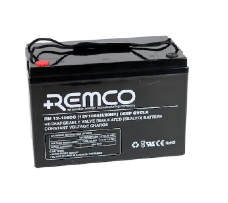 Remco 12V 100Ah Deep Cycle AGM