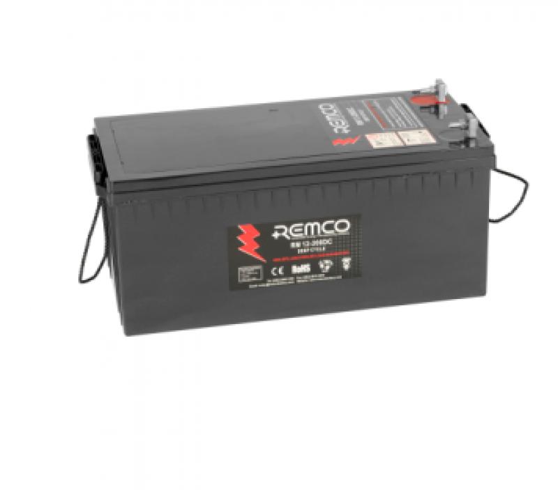 Remco 12V 200Ah Deep Cycle AGM