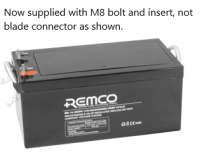 Remco 12V 260Ah Deep Cycle AGM