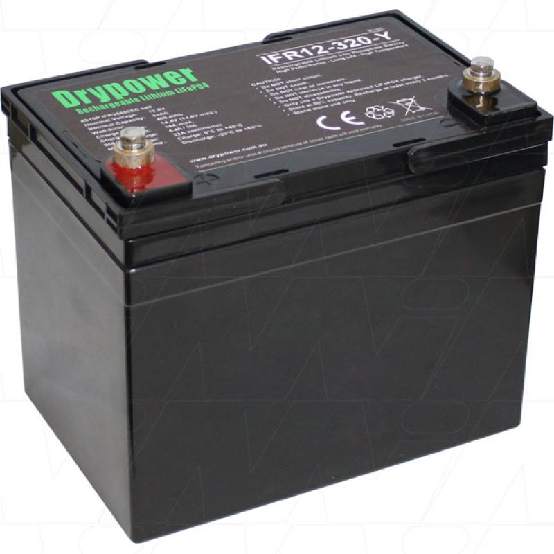 Drypower 12V 32Ah Lithium Iron Phosphate Battery