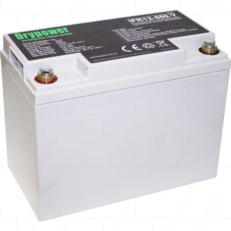 Drypower 12V 55Ah Lithium Iron Phosphate Battery