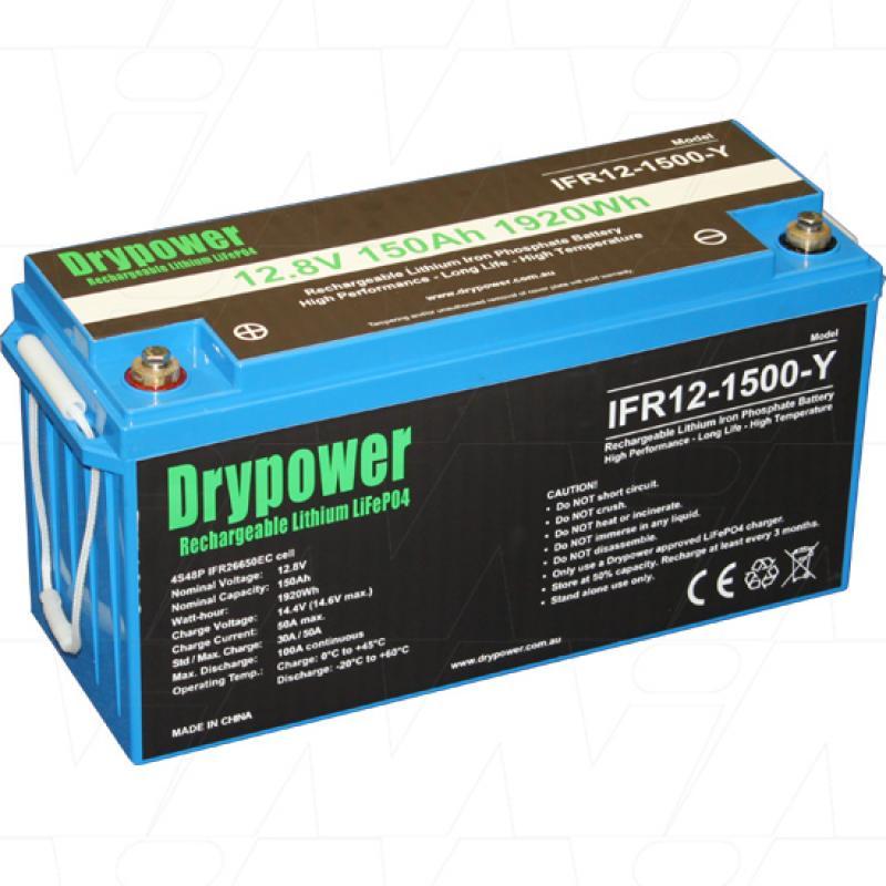 Drypower 12V 150Ah Lithium Iron Phosphate Battery