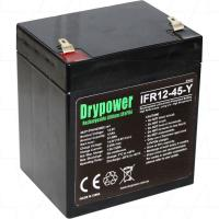 Drypower 12V 4.5Ah Lithium Iron Phosphate Battery