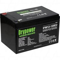 Drypower 12V 12Ah Lithium Iron Phosphate Battery