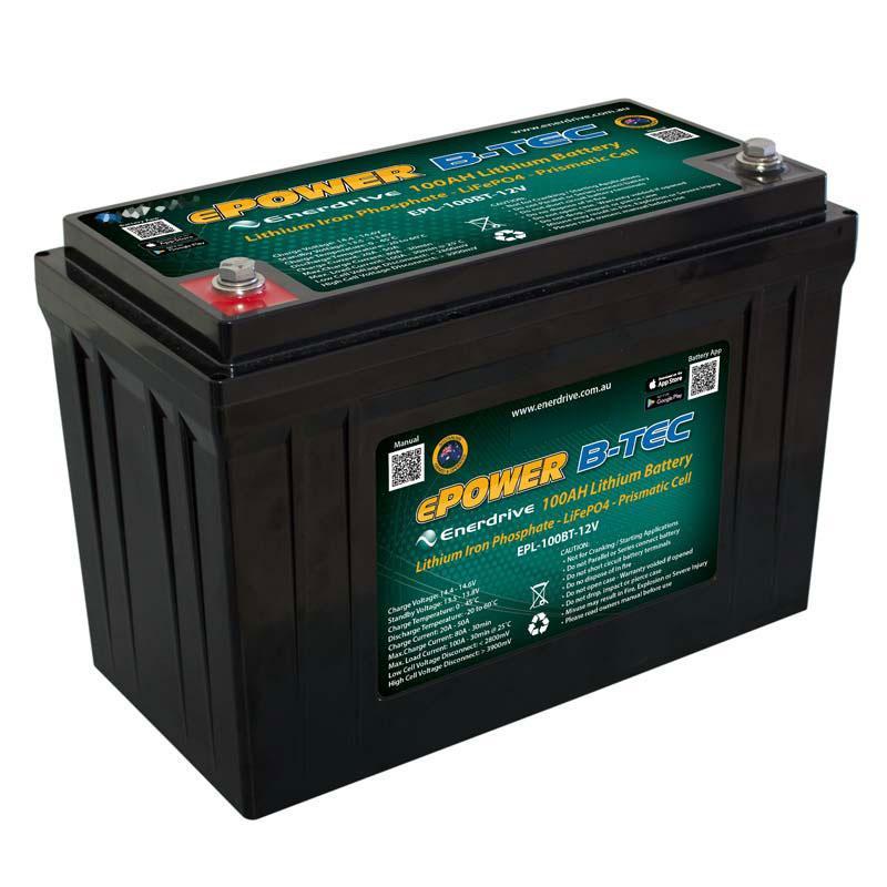 ePOWER B-TEC 100Ah Lithium Battery