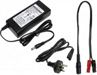 3A 12V LiFePO4 Charger with 40A Anderson for GOLF applications