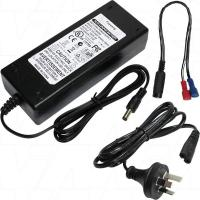 6A 12V LiFePO4 Charger with spade connectors