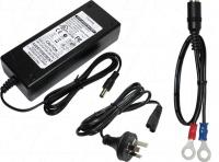 6A 12V LiFePO4 Charger with lugs