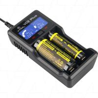 Xtar VC2 Plus - 1-2 Cell Lithium Ion Battery Charger