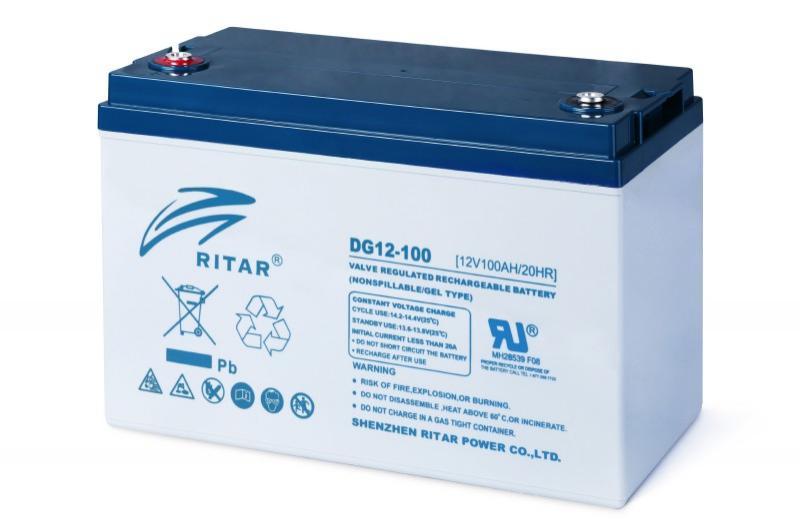 Ritar Deep Cycle GEL 12V 100Ah - RA12-100DG