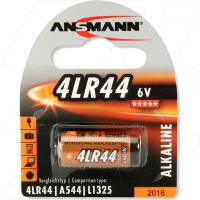 High Capacity 4LR44/L1325 6V Battery