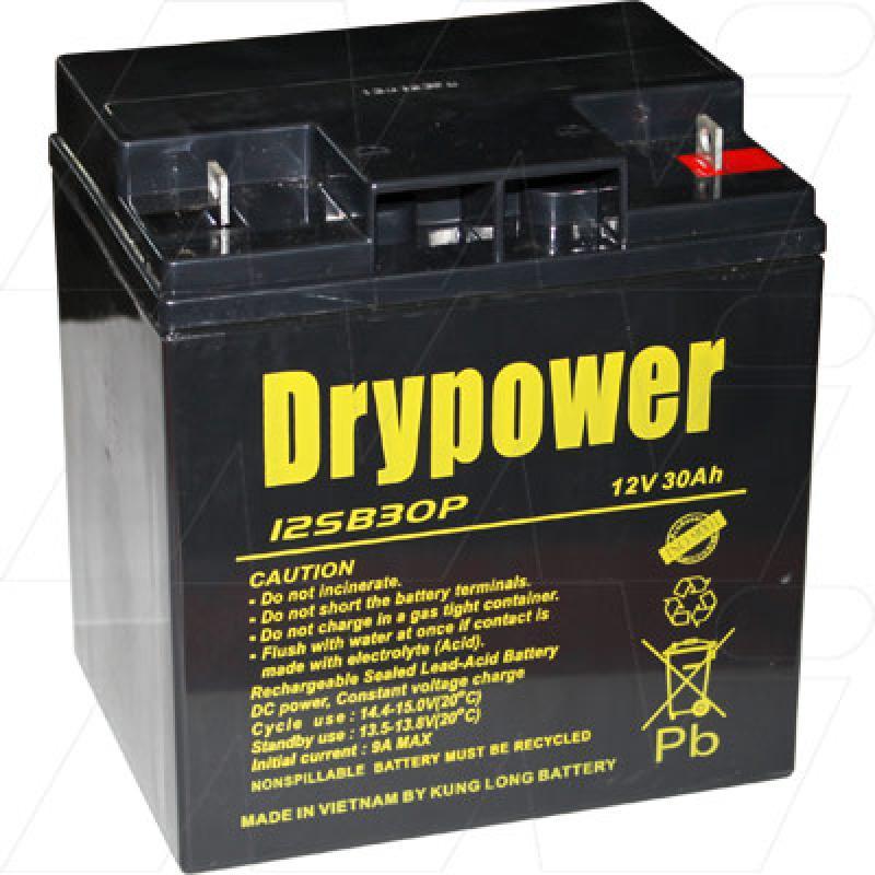 Drypower 12V 30Ah SLA - 12SB30P