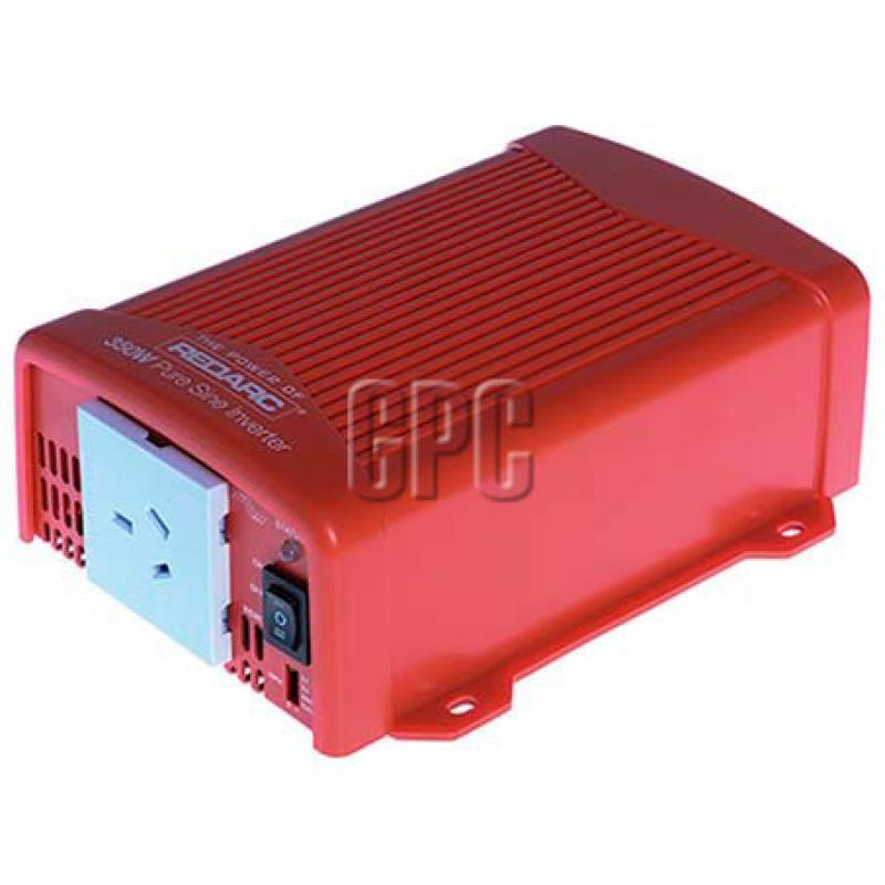 Redarc 12V 350W Pure Sine Wave Inverter - R-12-350RS