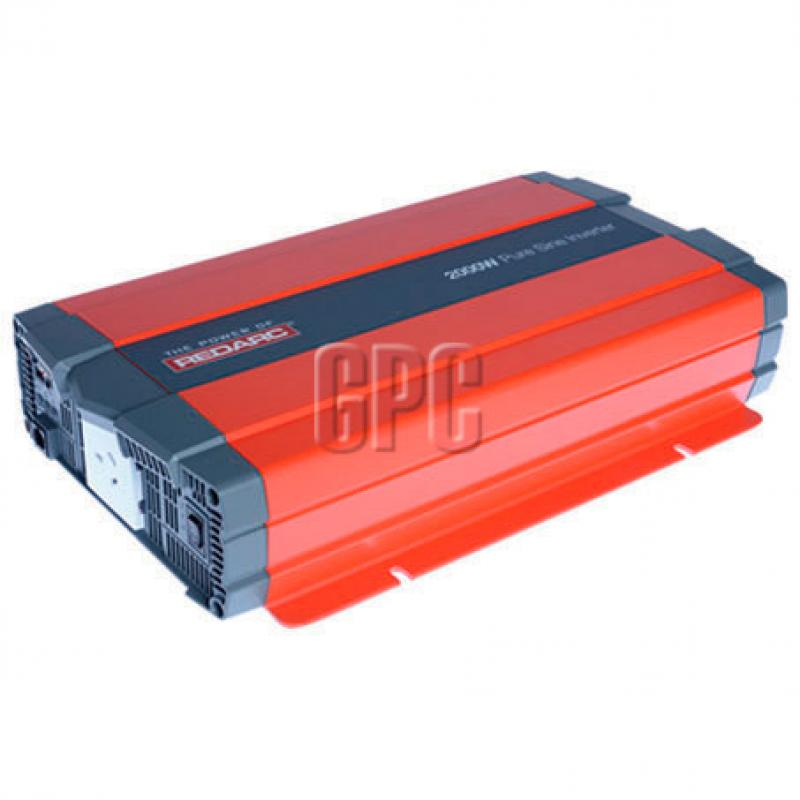 Redarc 24V 2000W Pure Sine Wave Inverter - R-24-2000RS