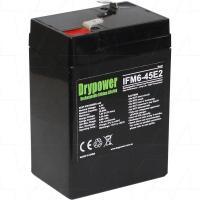 Drypower 6V 4.5Ah Lithium Iron Phosphate Battery