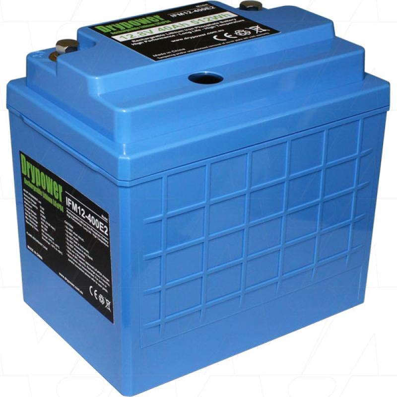 Drypower 12V 40Ah Lithium Iron Phosphate Battery