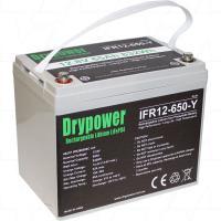 Drypower 12V 65Ah Lithium Iron Phosphate Battery