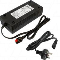 9.9A 12V Lithium Iron Phosphate Charger with Anderson Powerpole/Thornberry connection