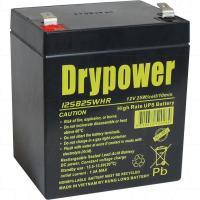 Drpower 12V 5Ah/25W SLA Battery for UPS/backup power use - 12SB25WHR