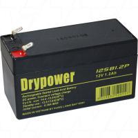 Drypower 12V 1.2Ah SLA Battery - 12SB1.2P