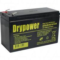 Drypower 12V 7Ah 36W UPS Battery - 12SB36WHR