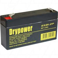 Drypower 6V 1.2Ah SLA Battery - 6SB1.2P