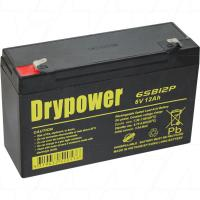 Drypower 6V 12Ah Cyclic SLA - 6SB12P
