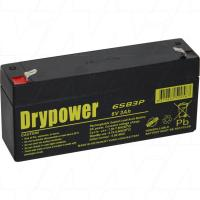 Drypower 6V 3Ah SLA Battery - 6SB3P