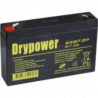 Drypower 6V 7.2Ah SLA Battery - 6SB7.2P