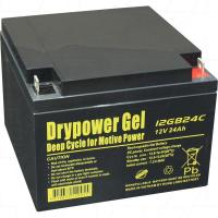 Drypower 12V 24Ah Deep Cycle Gel Battery - 12GB24C