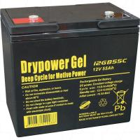 Drypower 12V 55Ah Deep Cycle Gel Battery - 12GB55C