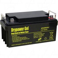 Drypower 12V 65Ah Low Profile Deep Cycle Gel Battery - 12GB65C