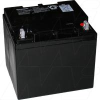 Panasonic 12V 38Ah Cyclic SLA Battery - LC-XC1238P