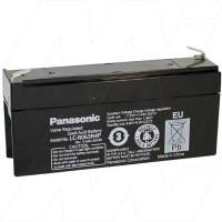 Panasonic 6V 3.4Ah Dual Purpose SLA Battery - LC-R063R4P
